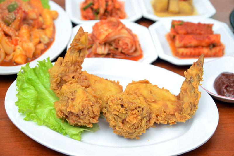 (HN) No bụng với Set ăn Hàn Quốc hấp dẫn cho 02 người tại Gimbap Chicken Korean Food