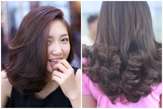 Chăm sóc tóc hư tổn + Uốn/ Ép/ Nhuộm chất lượng tại Vera Salon