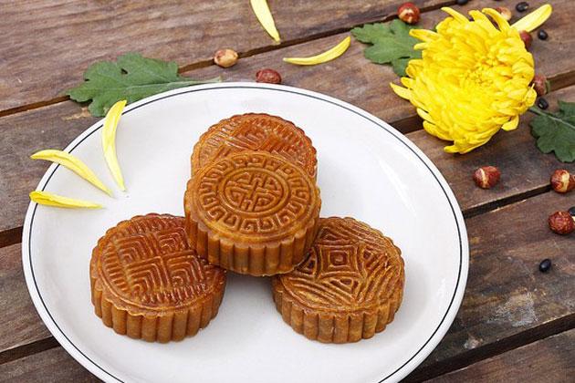 Hộp 04 bánh Trung thu Quốc Việt