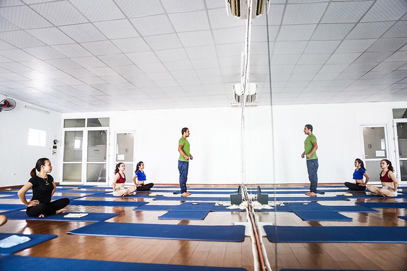 01 tháng tập Yoga tại Bảo An Yoga - 100% giảng viên Ấn Độ
