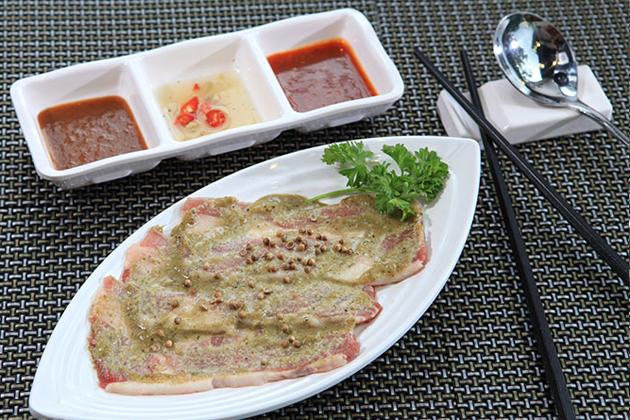 Buffet VIP Menu Lẩu và Nướng tại Bàn chuẩn vị Thái Lan