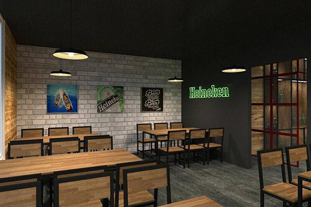 Thoả sức uống rượu không giới hạn khi mua 01 trong 02 set ăn cho 04 - 06 người tại Nhà hàng HD Beer Club