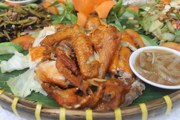 Gà Nia 05 món độc đáo tại Nhà hàng Cù Đất
