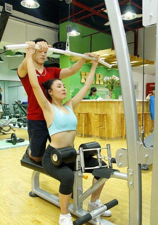 07 buổi tập không giới hạn tại K&K Fitness