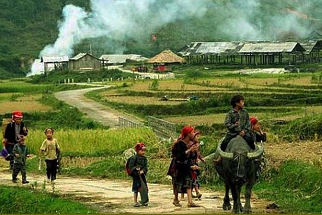 Tour Sapa - Cát Cát - Hàm Rồng - Lao Chải - Tả Van