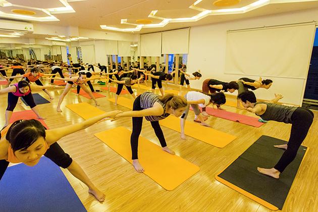 01 tháng tập Yoga, Aerobic, Bodyfit, Zumba không giới hạn buổi tập tại Vshape Club
