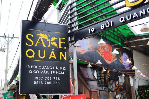 Combo đặc biệt chỉ có tại Sake Quán dành cho 02 - 03 người