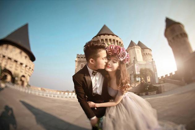 Gói chụp album ảnh cưới ngoại cảnh đẹp mê ly tại Hà Nội