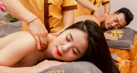 Massage cổ vai gáy tại Sen Healthy Beauty Spa
