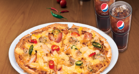 Hệ thống The Pizza Company - Combo COLA BBQ