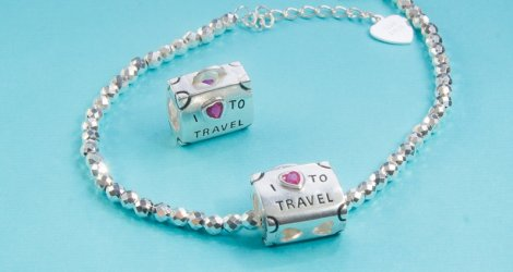 Travel Bags - Silver Charm 950