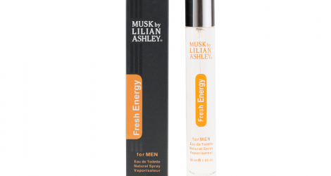 Nước hoa Musk Lilian Ashley - Fresh Energy - 30 Ml - Nam