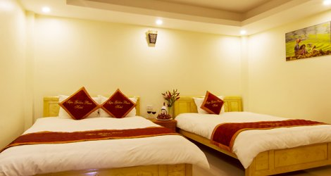 Phòng Deluxe Twin/ Double/ Single tại Sapa Golden Plaza Hotel 3* (2N1Đ)