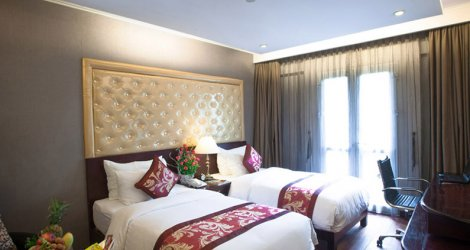 Medallion Ha Noi Boutique Hotel 3*- Phòng Deluxe 2N1Đ cho 02 người