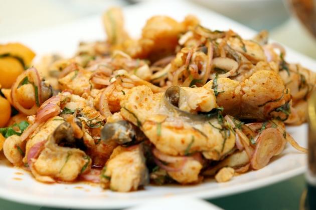 Thưởng thức set cá tầm 2,3kg cho 06 người tại Nhà hàng cá Minh Quân