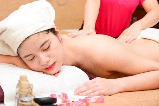 Lựa chọn 01 trong 02 gói dịch vụ Giảm béo hoặc Massage body đá nóng tại Gaia Spa Mộc Trà