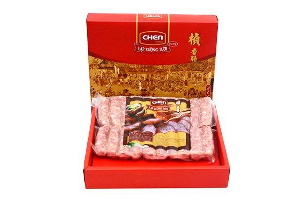 Đón Tết sum vầy cùng lạp xưởng tươi Chen cao cấp 1 kg 20 cây