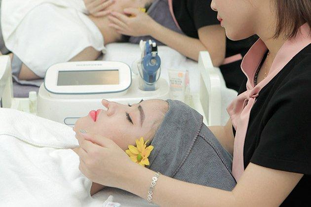 HN - Chăm sóc da mặt và gội đầu dưỡng sinh kèm massage cổ vai gáy tại K-Spa Beauty Clinic