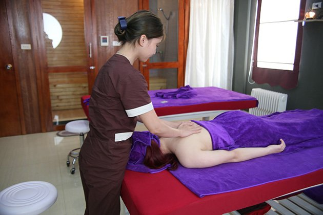 Xông hơi đào thải độc tố + Massage thư giãn toàn thân tại Hamsa Spa