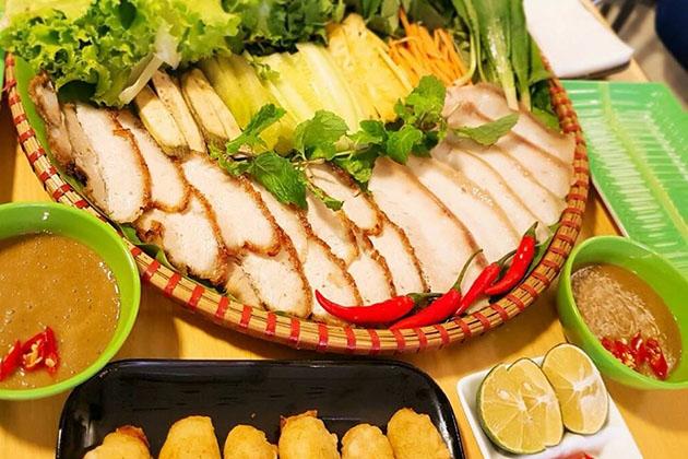 Bánh tráng cuốn thịt heo dành cho 02 - 03 người tại Nhà hàng KOK House